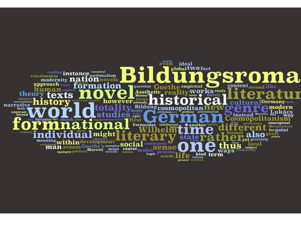 bildungsroman examples in literature