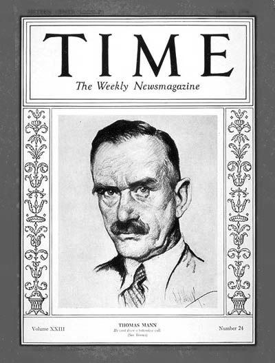 Thomas Mann Time Magazine